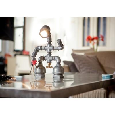 Удивительные светильники из водопроводных труб, которые можно сделать самому