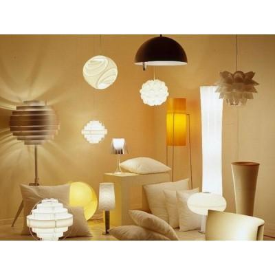 Классификация светильников: настенные, потолочные, настольные, напольные
