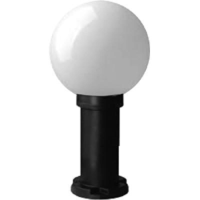 Светильник садово-парковый Астер (d200/d60/h20) Е27 IP43 молочный