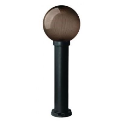 Светильник садово-парковый Астер (d200/d60/h90) Е27 IP43 призма-янтарный