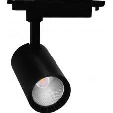 Трековый светодиодный светильник Feron AL102 12W 1080Лм 4000К черный (арт. 29647)
