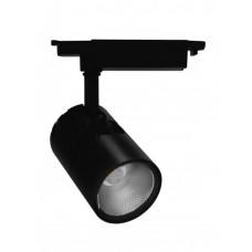 Трековый светодиодный светильник Feron AL103 20W 1800Лм 4000К черный (арт. 29648)