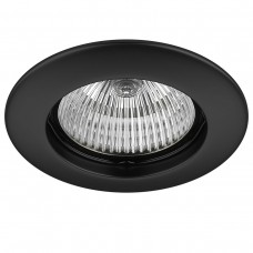 011077 Светильник TESO FIX MR16/HP16 ЧЕРНЫЙ (в комплекте)