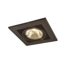 Встраиваемый светильник Arte Lamp A5930PL-1BK