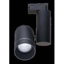 Светильник светодиодный трековый Светкомплект DLC-10R 10W черный 4500К 175*52мм, 900Lm