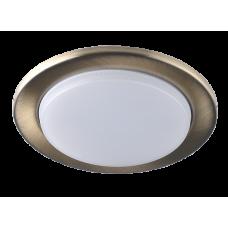 Светильник встраиваемый светодиодный Светкомплект LED GX53 7W AB 4500K Ø100, в.о. 80мм