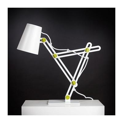 Настольная лампа Mantra 3614 Looker белая