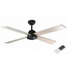 Потолочный вентилятор Faro Ibiza Marron Oxido 33288FAR Ø 132 см, темная ржавчина/махагон/дуб отбеленный, без плафонов, 4 лопасти