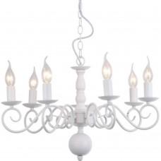 Подвесная люстра Arte Lamp A1129LM-7WH