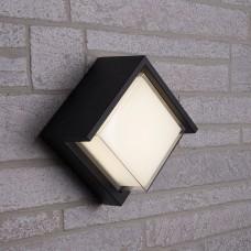 Светильник уличный светодиодный Feron DH108, 12W, 720Lm, 4000K, черный