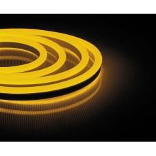 Cветодиодная LED лента Feron LS721 неоновая, 144SMD(2835)/м 12Вт/м  50м IP67 220V желтый