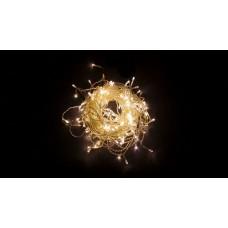 Светодиодная гирлянда Feron CL23 бахрома 5,3м*0,7м + 3м 230V 2700К, эффект стробов, c питанием от сети