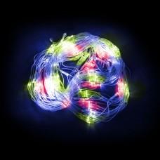 Светодиодная гирлянда Feron CL70 сеть 1,5х1,5м + 1.5м 230V мульти c питанием от сети