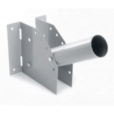 Кронштейн для уличных (консольных) светильников, посадочный диаметр 48мм, серый, ДС-1