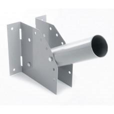 Кронштейн для уличных (консольных) светильников, посадочный диаметр 60мм, серый, ДС-1