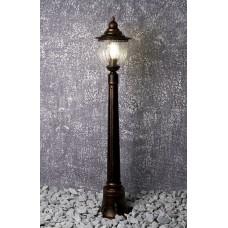 Светильник садово-парковый Feron PL596 столб 60W 230V E27, коричневый