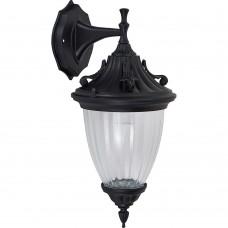 Светильник садово-парковый Feron PL581 на стену вниз 60W 230V E27, черный