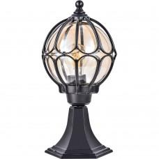 Светильник садово-парковый Feron PL3804  круглый на постамент 60W 230V E27, черный