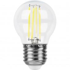 Лампа светодиодная Feron LB-509 Шарик E27 9W 4000K