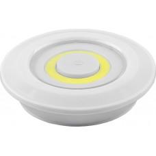 Светодиодный светильник-кнопка Feron FN1207 (3шт в блистере+пульт), 3W, белый