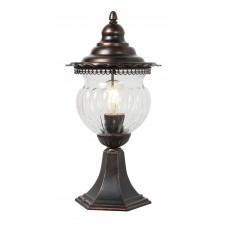 Светильник садово-парковый Feron PL594 на постамент 60W, коричневый