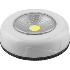 Светодиодный светильник-кнопка Feron FN1205 (3шт в блистере), 2W, белый