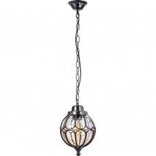 Светильник садово-парковый Feron PL3705  круглый на цепочке 60W 230V E27, черный