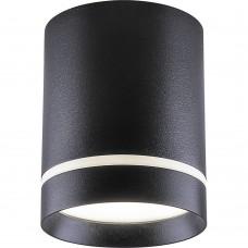 Светодиодный светильник Feron AL535 накладной 25W 4000K черный 100*100