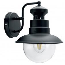 Светильник садово-парковый Feron PL571 на стену вниз 60W 230V E27, черный