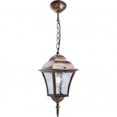 Светильник садово-парковый Feron PL615 на цепочке 60W E27 230V, черное золото