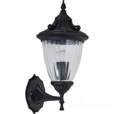 Светильник садово-парковый Feron PL582 на стену вниз 60W 230V E27, черный