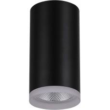 Светодиодный светильник Feron AL532 накладной 15W  4000K черный 80*100