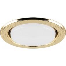 Светильник встраиваемый Feron DL5042 потолочный GX53 золото