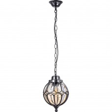 Светильник садово-парковый Feron PL3805  круглый на цепочке 60W 230V E27, черный