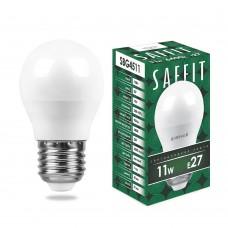 Лампа светодиодная SAFFIT SBG4511 Шарик E27 11W 6400K