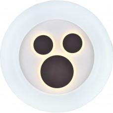 Светодиодный управляемый светильник накладной Feron AL8300 тарелка 72W 3000К-6500K
