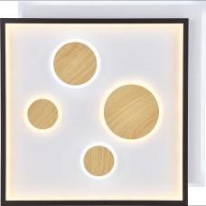Светодиодный управляемый светильник накладной Feron AL8400  90W 3000К-6500K накладные квадраты