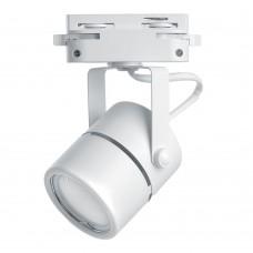 Светильник Feron AL191 трековый однофазный на шинопровод под лампу GU10, белый