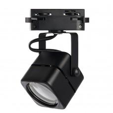 Светильник Feron AL190 трековый однофазный на шинопровод под лампу GU10, черный