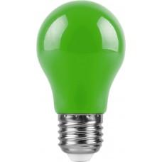Лампа светодиодная Feron LB-375 E27 3W зеленый