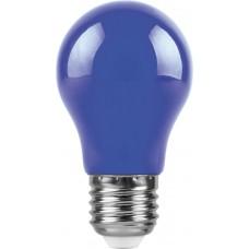 Лампа светодиодная Feron LB-375 E27 3W синий