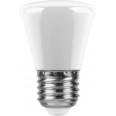 Лампа светодиодная Feron LB-372 Колокольчик матовый E27 1W 6400K