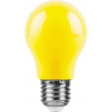 Лампа светодиодная Feron LB-375 E27 3W желтый