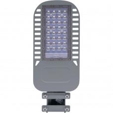 Светодиодный уличный консольный светильник Feron SP3050 30W 4000K 230V, серый
