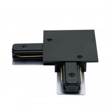 Коннектор угловой для встраиваемого шинопровода, черный, LD1005