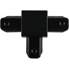 Коннектор Т-образныйдля шинопровода  , черный , LD1003