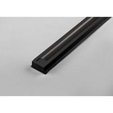 Шинопровод для трековых светильников, черный, 3м,  в наборе токовод, заглушка, крепление, CAB1003