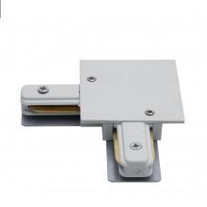 Коннектор угловой для встраиваемого шинопровода, белый, LD1005