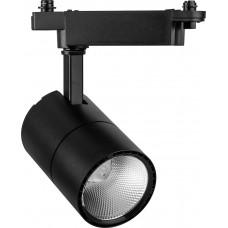 Светодиодный светильник Feron AL103 трековый однофазный на шинопровод 30W 6400K, 35 градусов, черный