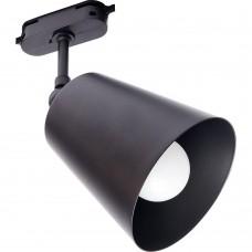 Светильник Feron AL158 трековый на шинопровод под лампу E27, черный